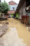 Внезапное наводнение бедствия Индонезии - Garut 006 Стоковые Фото