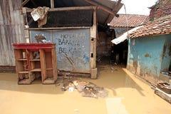 Внезапное наводнение бедствия Индонезии - Garut 008 Стоковое Фото