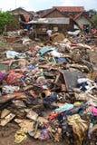 Внезапное наводнение бедствия Индонезии - Garut 028 Стоковое Изображение
