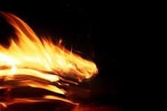 Внезапный пожар стоковые изображения rf