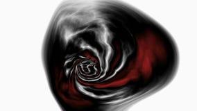 Внеземная жизнь в анимации агрессия ломая руку стекла перста принципиальной схемы нажимая s иллюстрация вектора