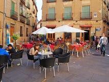 Внешнее кафе, Испания Стоковое фото RF