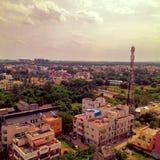 Внешнее небо башни солнечного дня природы Ченнаи Стоковые Фотографии RF