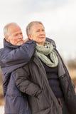 Внешнее старших пар престарелое совместно Стоковые Изображения RF