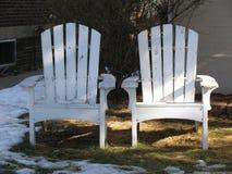 Внешние стулья Стоковая Фотография