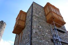 Внешний балкон Стоковое Фото