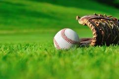 Внешний бейсбол Стоковые Изображения