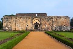 Внешний взгляд ванны ферзей Королевский центр или королевское приложение Hampi, Karnataka стоковые изображения rf