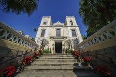 Внешний взгляд известной церков St Laurence стоковое фото rf