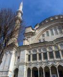 Внешний взгляд мечети Nuruosmaniye Стоковое Изображение RF