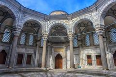 Внешний взгляд мечети Nuruosmaniye Стоковая Фотография