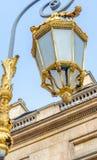 Внешний взгляд Palais de Правосудия в Париже - Франции Стоковая Фотография