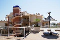 Внешний взгляд испанской лестницы Стоковое Фото