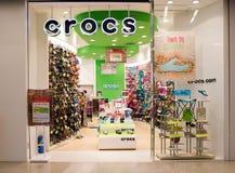 Внешний взгляд магазина Crocs Стоковая Фотография RF