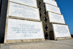 Внешний взгляд маяка Christopher Columbus в голубом небе Западная зона Санто Доминго, Доминиканской Республики Стоковое Фото