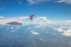 Внешний взгляд на аэроплане Стоковые Изображения
