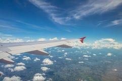 Внешний взгляд на аэроплане Стоковое фото RF
