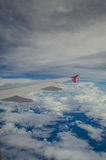 Внешний взгляд на аэроплане Стоковые Изображения RF