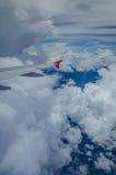 Внешний взгляд на аэроплане Стоковое Фото