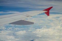 Внешний взгляд на аэроплане Стоковое Изображение