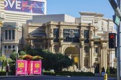 Внешний взгляд форума ходит по магазинам, дворец Caesars Стоковые Изображения