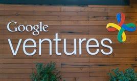 Внешний взгляд Google затует офис Стоковые Изображения