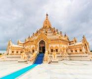 Внешний висок Swedaw Myat, Мьянма Стоковое фото RF