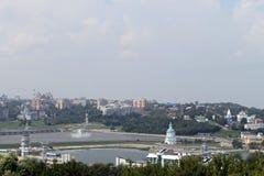 Внешний вид городка от верхней части Стоковая Фотография RF