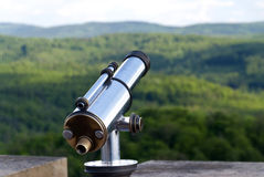 Внешний вид над горами Стоковая Фотография RF