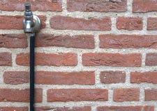 Внешний водопроводный кран Стоковая Фотография