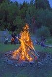 Внешний огонь стоковые изображения