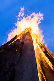 Внешний огонь Стоковое Фото