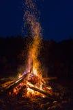 Внешний огонь стоковая фотография