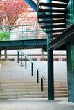Внешний строить лестниц стоковое фото