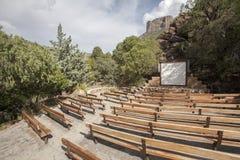 Внешний театр в национальном парке Стоковое Изображение RF