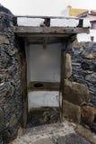 внешний туалет Стоковое фото RF