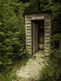 внешний туалет Стоковое Изображение