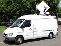 Внешний фургон передачи Стоковое Изображение RF