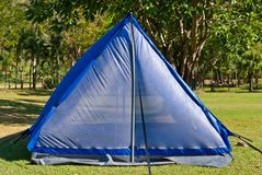 Внешний шатер для располагаться лагерем Стоковые Изображения RF