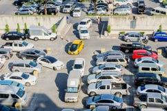 Внешняя автостоянка автомобиля Стоковая Фотография RF