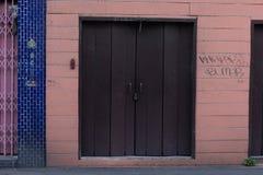 Внешняя витрина магазина с большими возможностями для мелкого бизнеса Стоковая Фотография RF