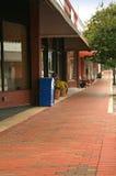 внешняя витрина магазина тротуара Стоковые Изображения RF