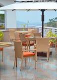 Внешняя водоустойчивая мебель Стоковое Изображение RF
