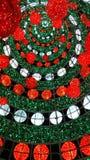 Внешняя гигантская рождественская елка Стоковое фото RF
