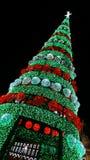 Внешняя гигантская рождественская елка Стоковое Изображение