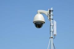 Внешняя камера CCTV стоковые изображения rf