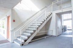 Внешняя конкретная лестница Стоковое фото RF