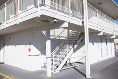 Внешняя конкретная лестница Стоковое Изображение RF