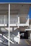 Внешняя конкретная лестница стоковые фото