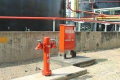 Внешняя коробка гидранта & пожарного рукава Стоковые Изображения RF